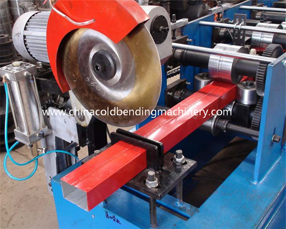 Rectangular Downspout Roll Forming Machine For Rainwater Downpipe