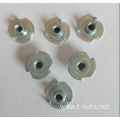 Zinc Plating Full thread 3 prongs T-Nuts