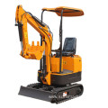 Export Japan engine mini excavator 1 ton