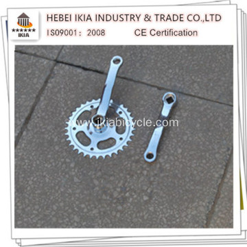 Steel Crank Set With Double Plastic Cover