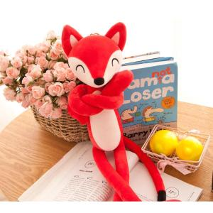 Naughty Fox Shaped Plush Toy