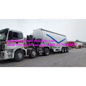 CIMC 3 axles 50m3 bulk cement semi trailer