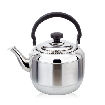 Stainless Steel Water Kettle With Handle And Lid