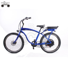 26inch 750W 48V electric beach cruiser bike