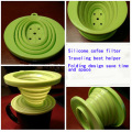 Outlet Over Flow Silicone Coffee Cone Filter