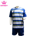 White And Blue Stripes Australia Rugby Shirt
