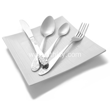 Stainless Steel Tableware Set of Spoon/Fork
