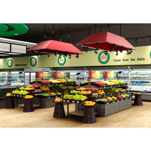 China for Double Sided Vegetable Shelves Fruit And Vegetable Display Shelves supply to Denmark Wholesale