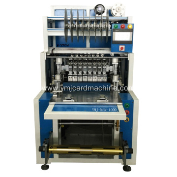 Full Auto Magnetic Strip Module Mounting Machine