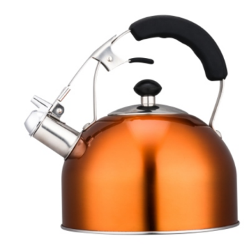 4.5L ceramic tea kettle on stove