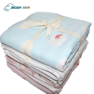 OEM for Multilayer Baby Blanket New Born Baby Multilayer Blanket No Fluorescence Fabric supply to Italy Manufacturer