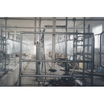 Dairy used mid-set milking parlor