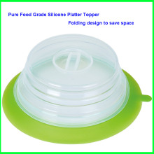 Good User Reputation for for Silicone Folding Cup Lid,Collapsible Cup Lid,Foldable Cup Lid Manufacturer and Supplier Folding Keep Fresh Air Tight Suction Silicone Lid supply to Chad Factory