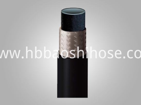 1-layer Fiber Braided Rubber Tube