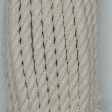 100% cotton fiber material twisted rope