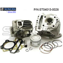 GY6 139QMB Cylinder Kit Cylinder Head