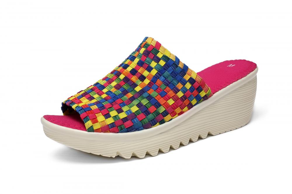 Casual Style Woven Slipper