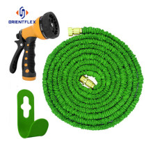 Fabric flat garden hose car wash hose