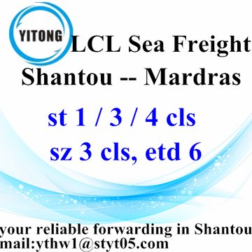 Shantou Global Combined Transport to Mardras