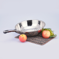 Eco Friendly Kitchen Long Handle Stainless Steel Pan