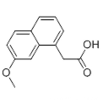 2-(7-Methoxynaphthalen-1-yl)acetic acid CAS 6836-22-2