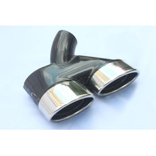 Best Quality for Stainless Steel Tail Pipes Dual Outlet Exhaust tail pipe tips export to Anguilla Wholesale
