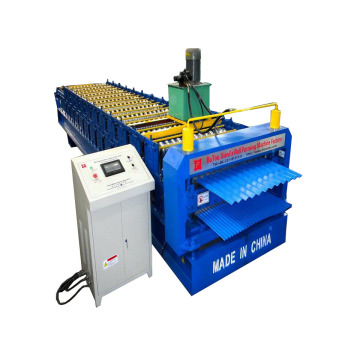 Corrugated Roofing Panels Double Layer Roll Forming Machine