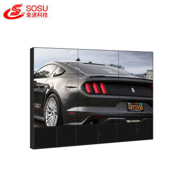 100 inch matrix lcd video wall multi screen