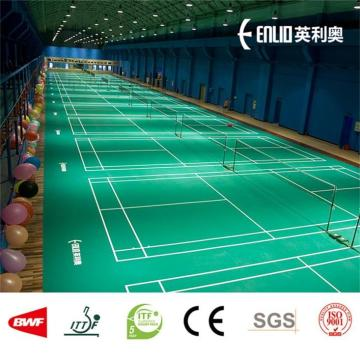 Enlio badminton court flooring