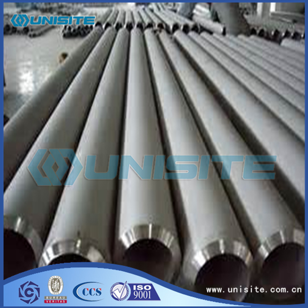 Stainless steel exhausted round pipe