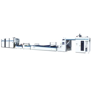 Automatic flute laminating machine with pile turner