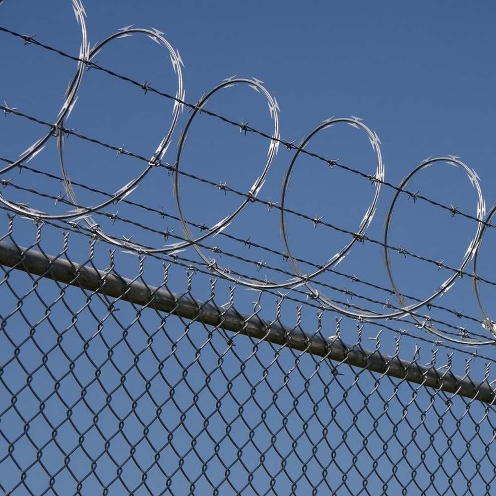 Galvanized Single Concertina Razor Barbed Wire China