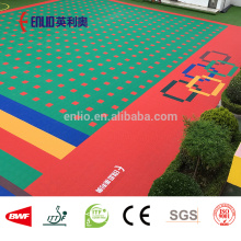 Interlocking flooring for Kindergarten