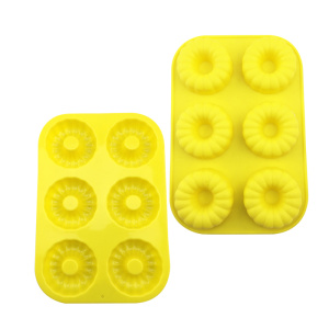 Reasonable price for Silicone Cake Mould silicone 3d flower shape muffin cake mold supply to Indonesia Wholesale