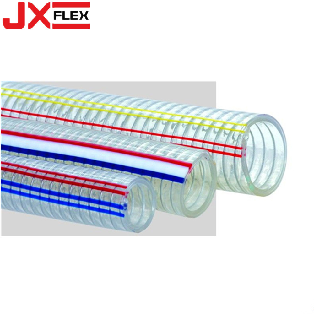 Wire Reinforced Transparent Pvc Hose