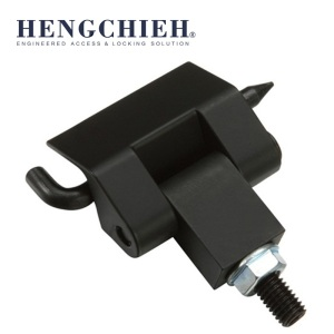 China for Concealed Cabinet Hinges ZDC Matt Black Powder Coated Industry Cabinet Hinge export to Saint Lucia Wholesale