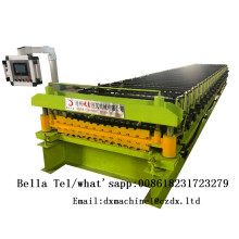 IBR double layer roofing sheet roll forming machine