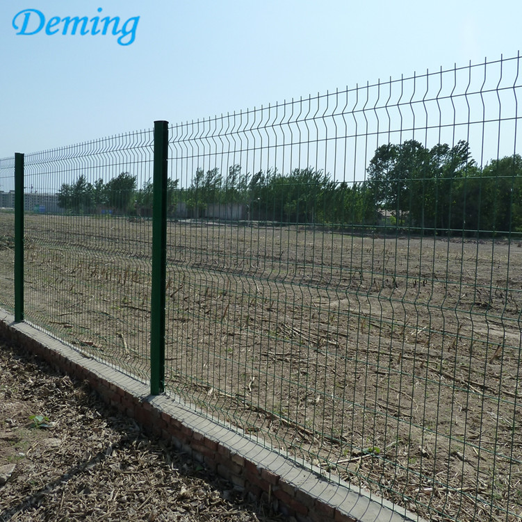 3D Fence Wire Mesh Fence With Curves