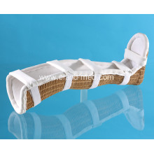 Professional Breathable Medical Patient Healing Leg Brace
