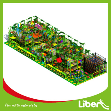 Multifunctional indoor amusement playground