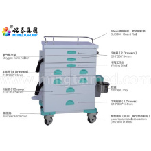 General anesthetic vehicles cart