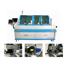 Full Auto Milling and Wire Pulling Out Machine