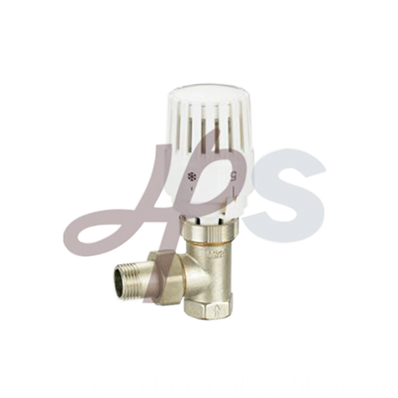 Angle Type Brass Thermostatic Radiator Valve Hvr09
