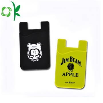 Custom Silicone Card Holder 3M Adhesive Card Sleeve