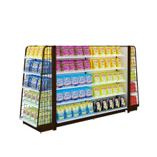 Leading for Convenience Store Shelf Convenience Store Steel Shelf export to Dominica Wholesale