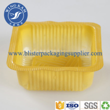 Customized Plastic Blister Packaging Container For Biscuit