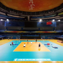 Indoor PVC Volleyball Court Flooring