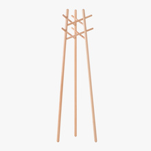 Cheap for Cloth Rack Popular Modern wooden Cloth Stand Coat Rack supply to El Salvador Manufacturers
