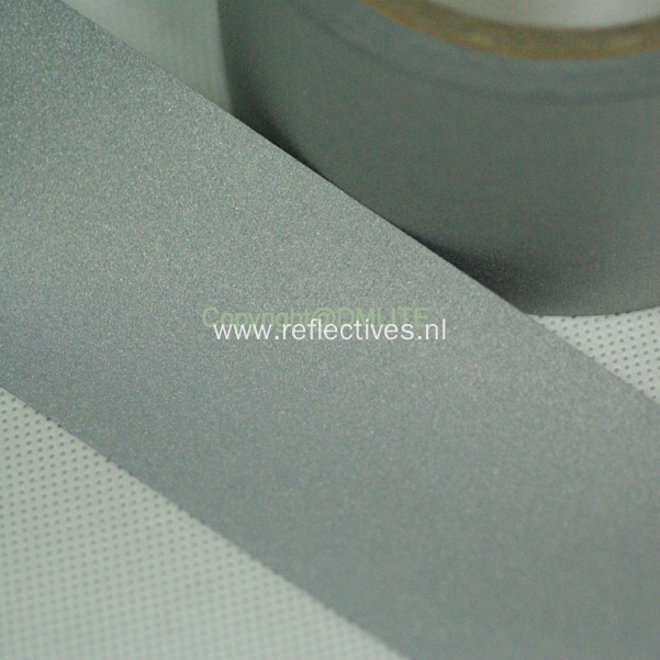 Washing Enhanced Gray TC Reflective Fabric