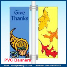 Building Advertising Flex PVC Outdoor Hanging Banner